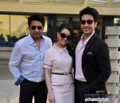 Shekhar Suman, Ariana Ayam and Adhyayan Suman during a panel discussion on Anaesthesia Awareness