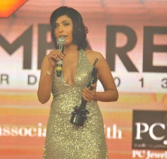 Shilpa Shukla speaks after receiving the Best Actress Award (Critics)