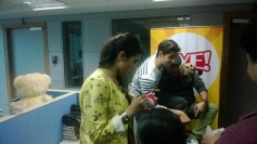 Sidharth Malhotra and Parineeti Chopra promotes Hasee Toh Phasee film at Fever 104 FM