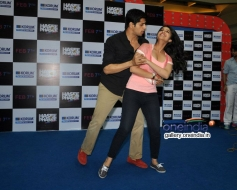 Sidharth shakes a leg with Parineeti during the Hasee Toh Phasee film promotion