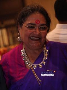 Singer Usha Uthup at the film Aaha Kalyanam audio launch