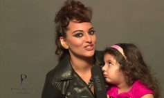 Sonakshi Sinha still from Dabboo Ratnani 2014 Calendar photoshoot behind the scenes