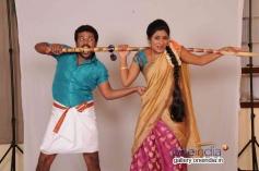 Soorya Prabhu and Deepika Das in Kannada Movie Cycle Gapalli
