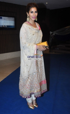 Sophie Choudry during the Toshi Sabri's Wedding Reception