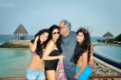 Sridevi New Year Family Vacation with her Gorgeous Daughters