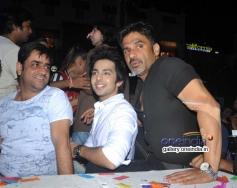 Suniel Shetty during the Yaariyan promotion at Phoenix mall