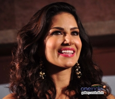 Sunny Leone during on location shoot of the film Ragini MMS 2