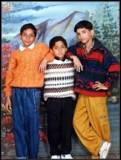 Sushant Singh Rajput childhood photo