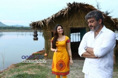 Tamanna with Ajith in Veerudukkade