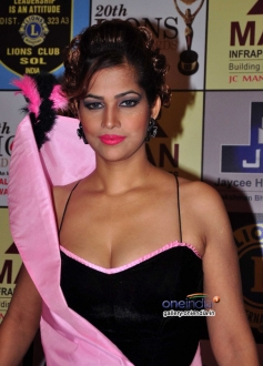 Tanisha Singh during the 20th Lions Gold Awards 2014