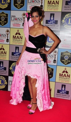 Tanisha Singh poses during the 20th Lions Gold Awards 2014