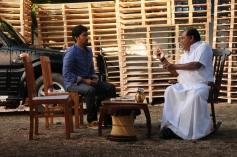 Vaibhav and Kota Srinivasa Raostill from film Damaal Dumeel