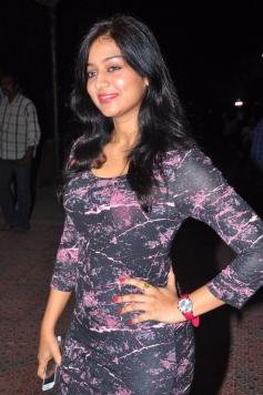 Varsha Ashwati poses at the Alandur Fine Arts Awards