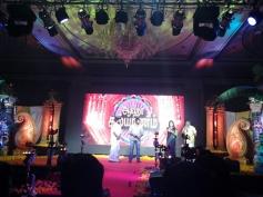 Vijay Sethupathi and Nani at the Aaha Kalyanam audio launch
