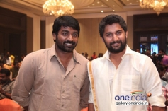 Vijay Sethupathi and Nani at the film Aaha Kalyanam audio launch