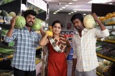 Vimal, Ananya and Soori still from film Pulivaal