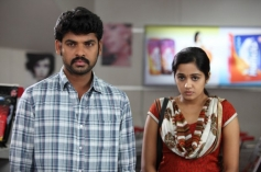 Vimal and Ananya still from film Pulivaal