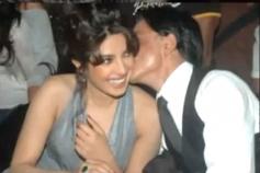 Shahrukh Khan Kissed Priyanka Chopra kissed in public