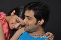 Yami Gautam and Tarun still from Yuddam Movie