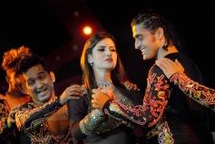 Zarine Khan performs at Saifai Mahotsav in Etawah district