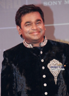 A R Rahman during the launch of his music album Raunaq