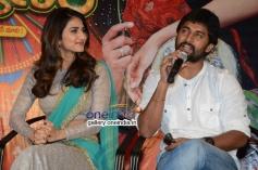 Nani and Vaani Kapoor at Aaha Kalyanam Press Meet