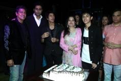Abhishek Bachchan at Avitesh Shrivastava's 18th birthday bash