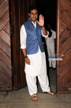 Abhishek Bachchan on his 38th birthday bash