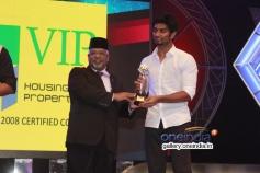 Adharva won award at 7th Year Edison Awards 2014