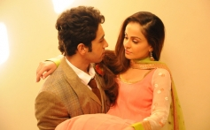 Adhyayan Suman and Ariana Ayam still from film Heartless