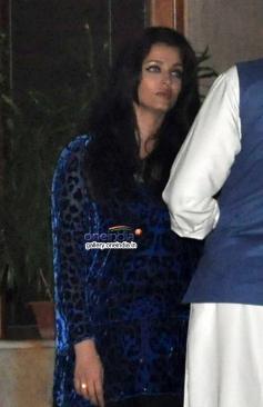 Aishwarya Rai Bachchan at Abhishek Bachchan 38th birthday bash