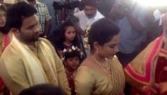Aju Varghese and Augustina wedding