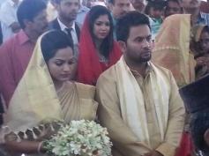 Aju Varghese weds Augustina