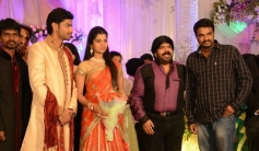 AL Vijay at T Rajendar Daughter Ilakiya Wedding Reception