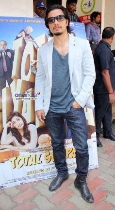 Ali Zafar promote Total Siyapaa at final auditions of Rahul Rawail's film Love Story Again