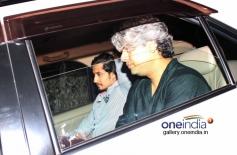 Ali Zafar and Shaad Ali snapped at Mannat on SRK's party