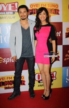 Ali Zafar and Yami Gautam during the audition of Love Story Again