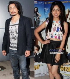 Ali Zafar and Yami Gautam promote Total Siyapaa at Filmistan Studio