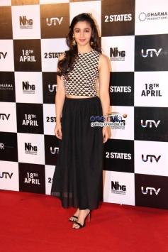Alia Bhatt at 2 States trailer launch