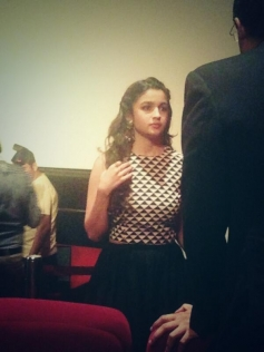 Alia Bhatt gearing up for 2 States trailer launch