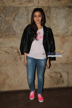 Alia Bhatt at Hasee Toh Phasee film special screening
