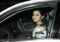 Alia Bhatt at Highway special screening