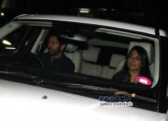 Kabir Khan and Mini Mathur at special screening of Highway