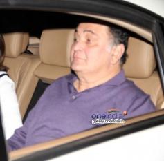 Rishi Kapoor at special screening of Highway