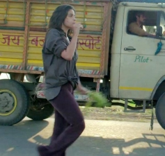 Alia Bhatt still from film Highway