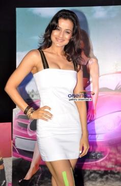 Ameesha Patel at first look launch of film Desi Magic