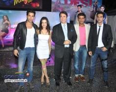 Ameesha Patel, Randir Kapoor and Zayed Khan at first look launch of film Desi Magic