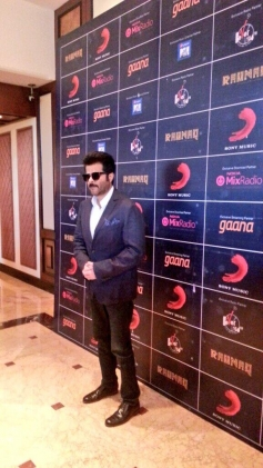 Anil Kapoor at launch of AR Rahman's music album Raunaq