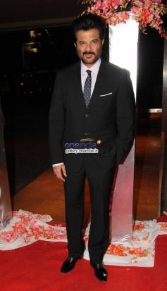 Anil Kapoor at Siddharth Kannan wedding reception