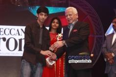 Anirudh and Dhansika at 7th Year Edison Awards 2014